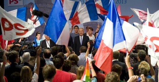 Prancūzijos socialistai šturmuos rinkimus į EP