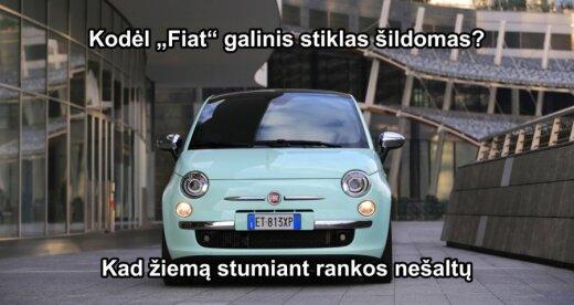 FIAT'ų savininkai supras