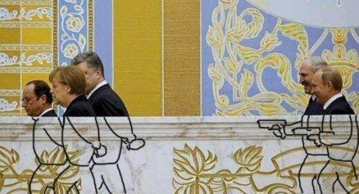 Minsko derybos: nematyti kadrai