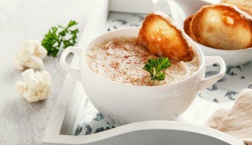 Šalta žiedinių kopūstų sriuba