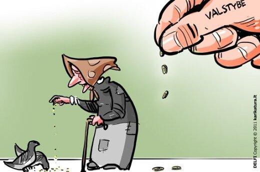 Politikai: geriausias sprendimas buvo grąžinti pensijas