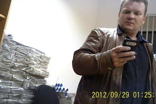 Eugenijus Maciulevičius Darbo partijos patalpose