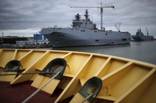 """Kas bus su """"Mistral"""": Rusijos laukia netikėtumas?"""