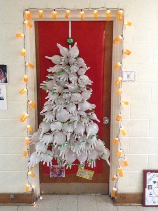 Neįtikėtinos kalėdinės ligoninės dekoracijos, kurias privalote pamatyti