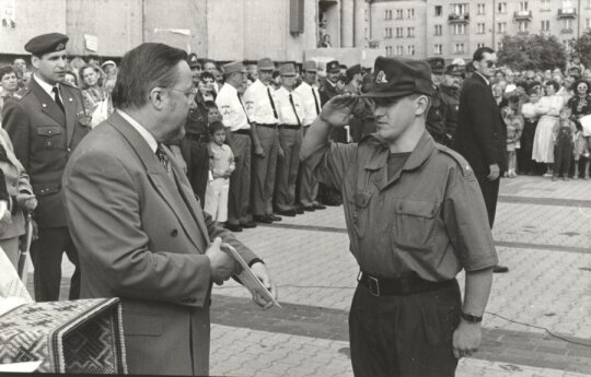 Vytautas Landsbergis, Nerijus Treinys