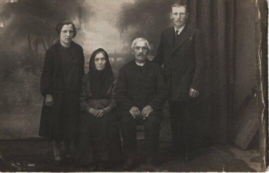 K. Kubilinsko tėvai ir seneliai