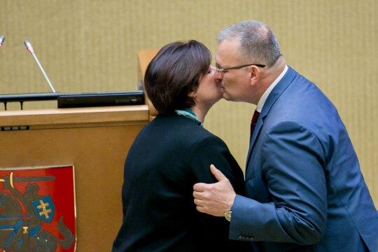 Loreta Graužinienė ir Kęstutis Daukšys