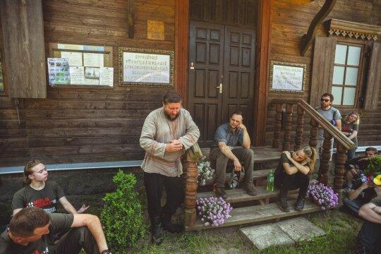 Perelozų religinės bendruomenės pirmininkas Michailas Rybakovas