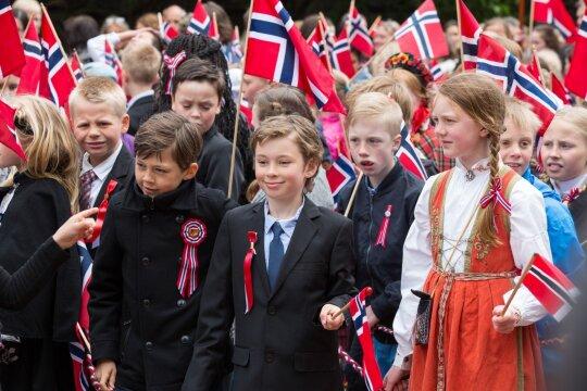 Moksleiviai Norvegijoje