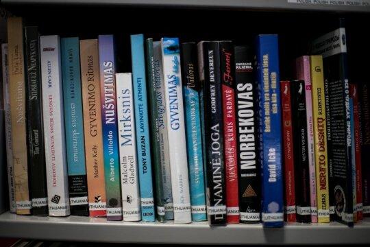 Lietuviškos knygos Monaghano bibliotekoje