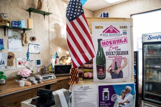 Vakarų Holivude driekiasi vadinamasis rusų bulvaras: čia gali visko išgirsti ir apie Rusiją, ir apie Ameriką, ir net apie Lietuvą