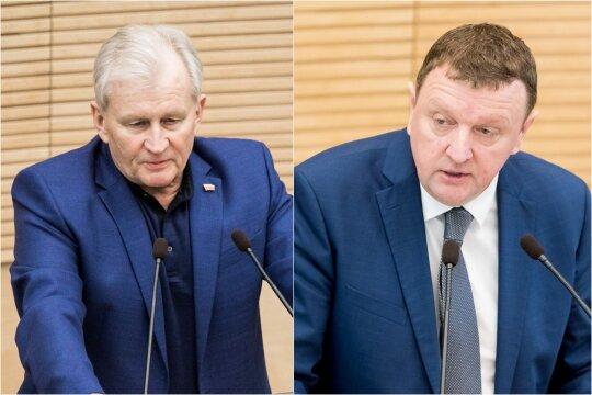 Kęstutis Glaveckas ir Vitalijus Gailius