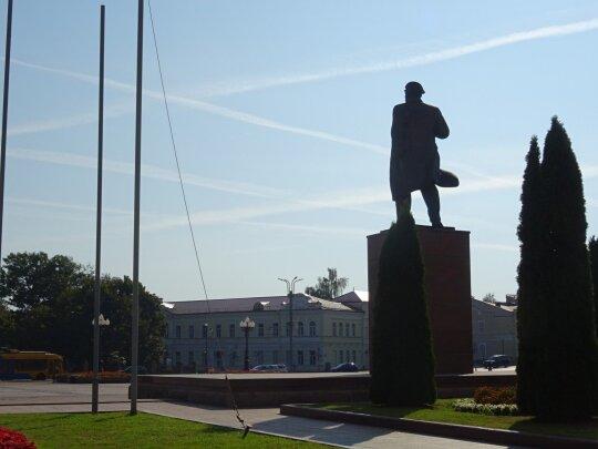 Памятник Ленину в Гродно