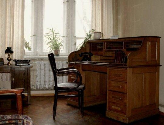 Atkurtas Krėvės kabinetas / Vinco Krėvės-Mickevičiaus memorialinio muziejaus nuotr.