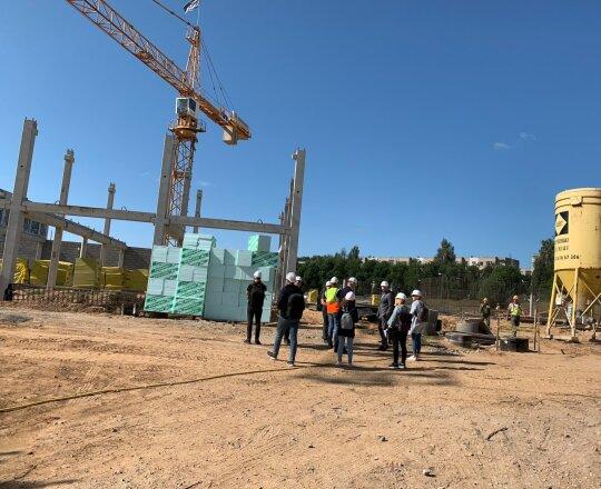 Gabijos gimnazijos priestato statybos