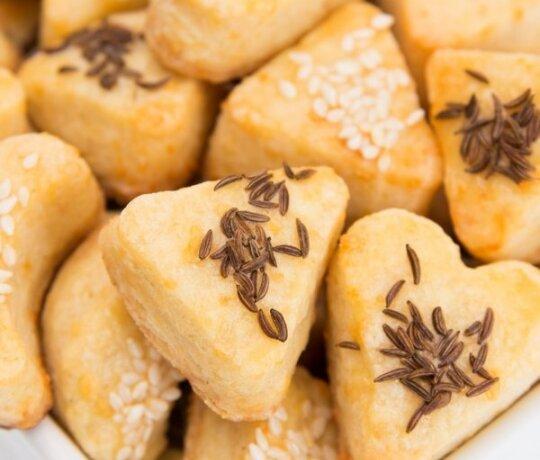 Burnoje tirpstantys sausainėliai
