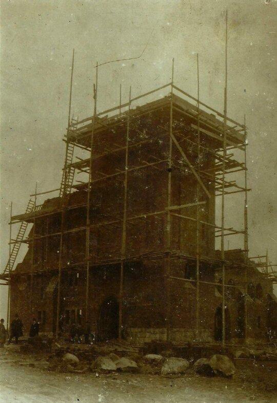 Vanagų bažnyčios statybos
