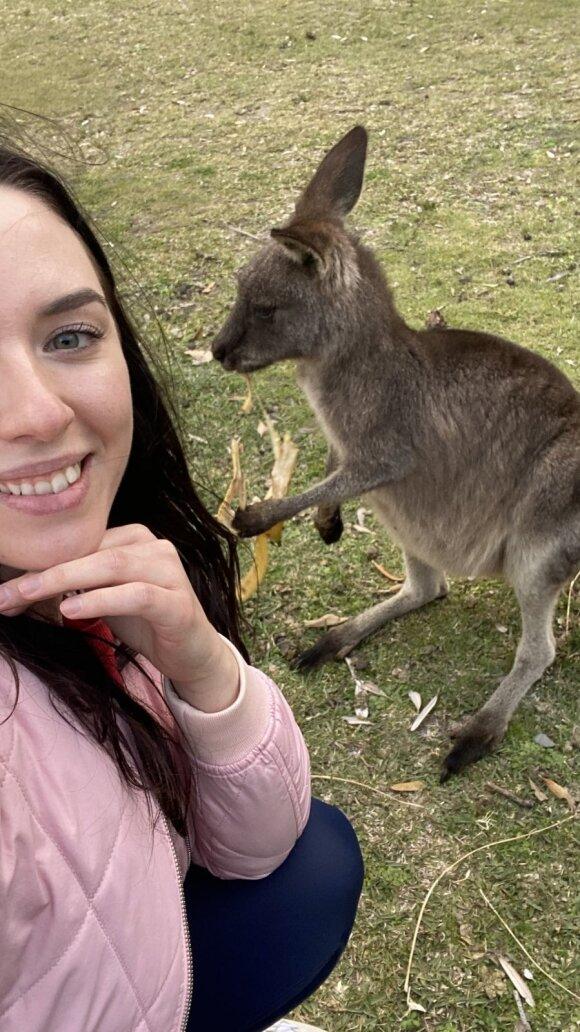 Australijoje kosmetologe dirbanti Diana: klientai labai apsidžiaugia išgirdę, kad specialybės mokiausi būtent Lietuvoje