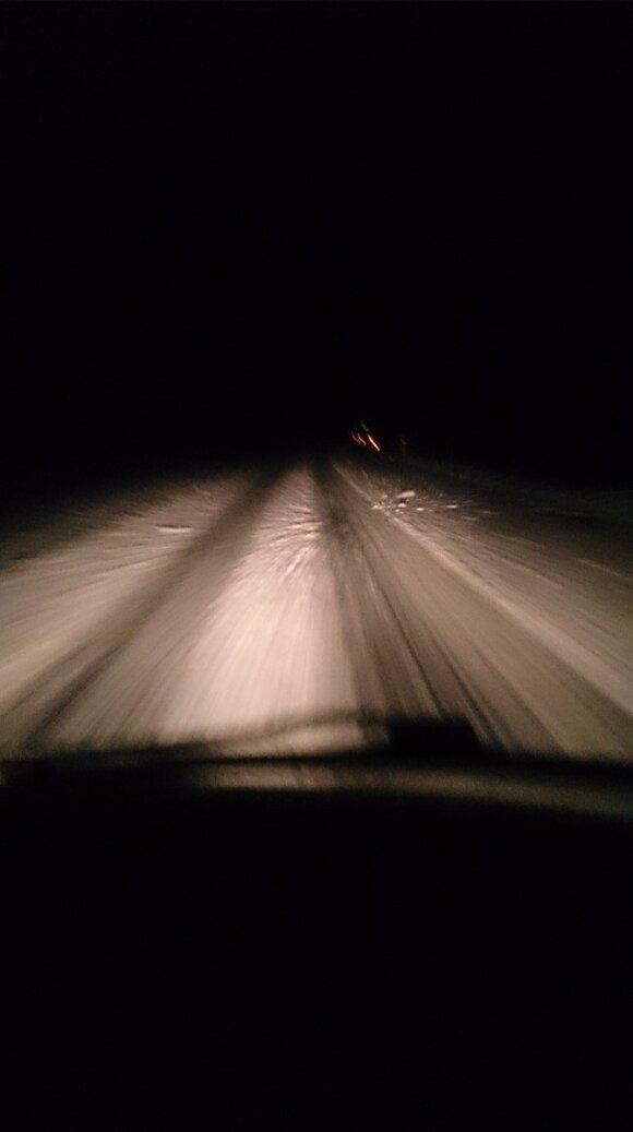 Via Baltica žiemą