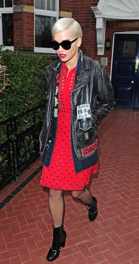 Aktorė ir daininkė Rita Ora