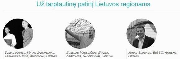 Paskelbti Globalios Lietuvos apdovanojimų 2016 nominantai