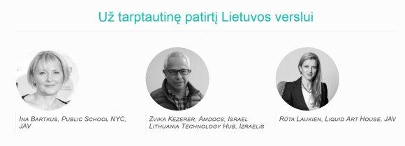 Globali Lietuva nominantai