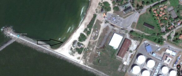Planuojama gyventojams su augintiniams paplūdimio teritorija Klaipėdoje