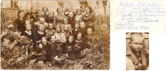 Sigitas Kudarauskas, Mosėdis, 1941