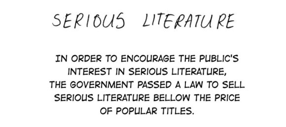 Fakin' Zeitgeist: Serious Literature