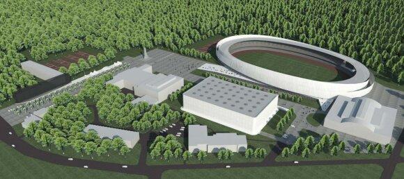 Kaunas ruošiasi grandiozinei stadiono rekonstrukcijai
