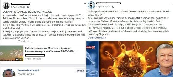 Įspėja dėl garsaus italų gydytojo: skiepų priešininkas kursto sąmyšį dėl koronaviruso ir kelia pavojų