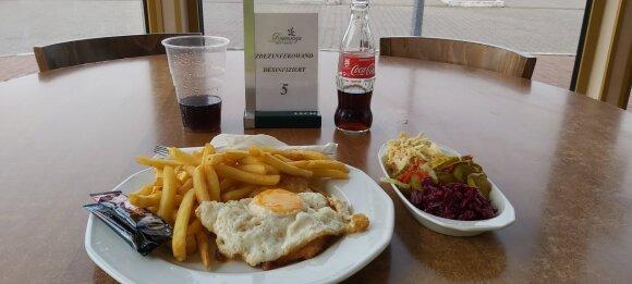 Pavalgiau tik už 6 eurus.