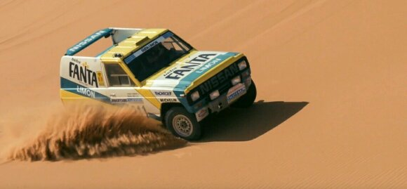 Stephane Peterhansel. Nissan nuotr.