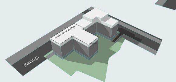 Naujamiestyje numatomos naujo verslo centro statybos