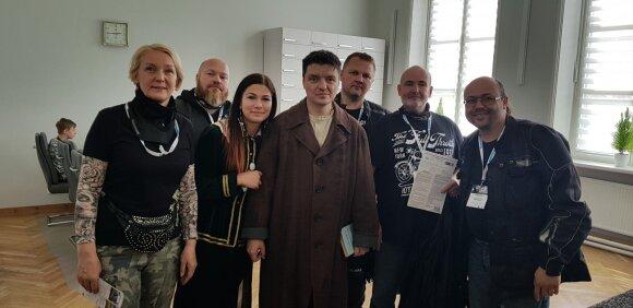"""""""BMW Mototurizmo sprintas 2019"""" įpusėjo: Čiobiškis ir Jonava"""