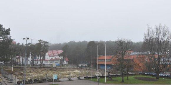 Įstrigusios statybos Klaipėdoje ir Nidoje: teismų procesai sustabdė bet kokį darbą