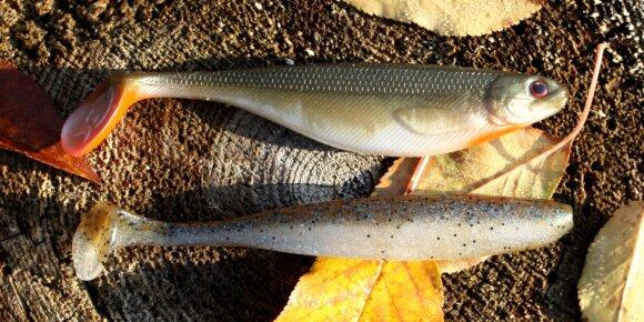 Autoriaus sėkmingiausi masalai žvejojant lydekas karjeruose ir tvenkiniuose