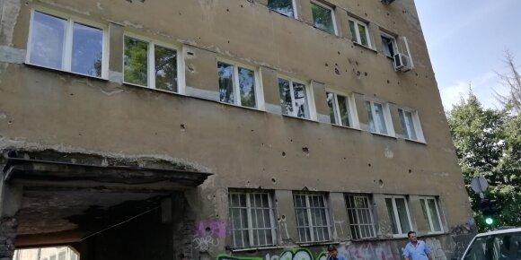 Lietuvių įspūdžiai iš paskutinės Europoje tikrą karą patyrusios sostinės: ten buvo tikra mėsmalė