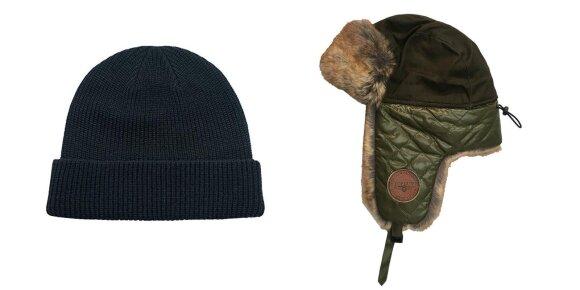 """""""Beanie"""" tipo kepuraitė ir kepurė su ausinėmis"""