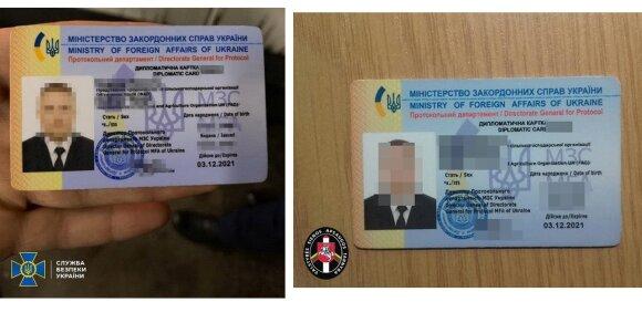 Ukrainos saugumui žinomas kontrabandininkas bandė įvažiuoti į Lietuvą apsimesdamas diplomatu