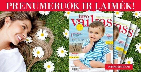 Marijus Mikutavičius naujame TAVO VAIKO žurnale priėmė netikėtą iššūkį