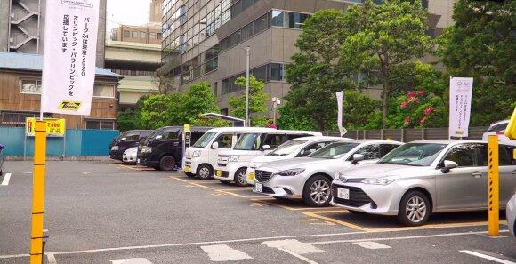 Baudos už automobilio stovėjimą Japonijoje / Chepolinko nuotr.