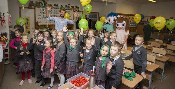Pradėję lankyti mokyklą vaikai nustoja valgyti košę