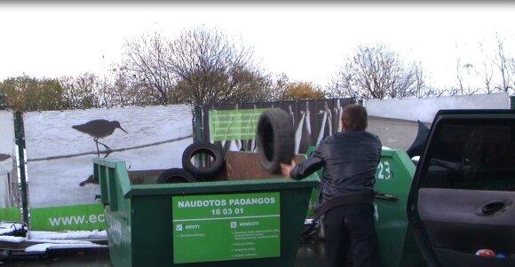 Stambiagabaričių ir pavojingų atliekų surinkimo aikštelė