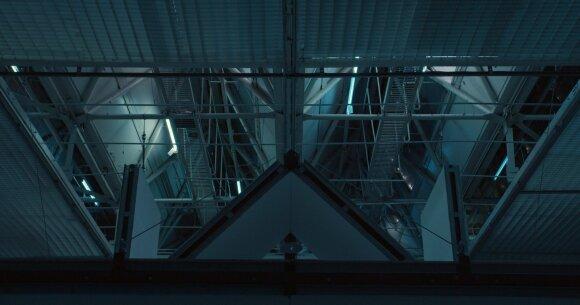 """Kintanti srovė"", 2021, parodos fragmentas"
