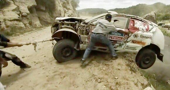 Avarija 2013 m. Dakaro ralyje