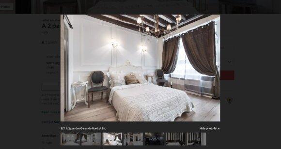 Apartamentai Paryžiuje - naktis 100 eurų