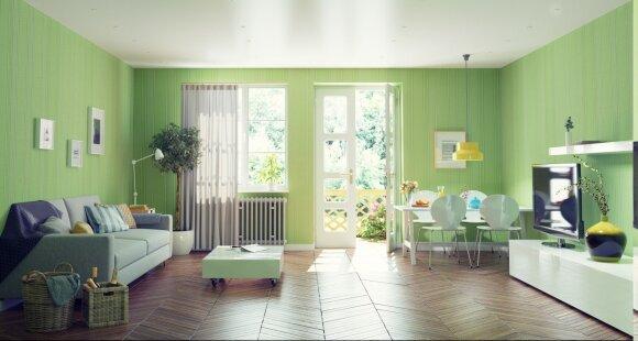 5 fengšui taisyklės: interjero spalvos, kurios išpildo norus