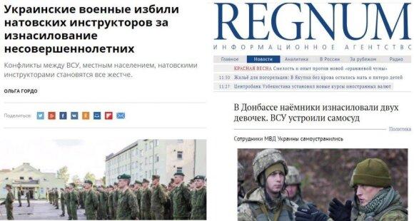 Melagingos naujienos apie tariamus lietuvių karių nusikaltimus