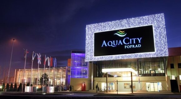 "Slovakijos viešbutis ""Aqua City""/ Viešbučio nuotr."